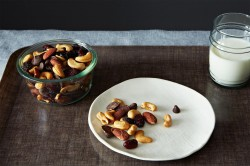 Trail Mix with Bittersweet Chocolate Almonds and Cherries Recipe