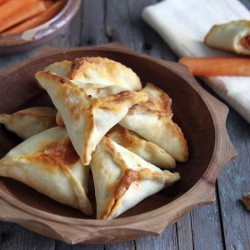 Turnovers with Red Pepper Paste