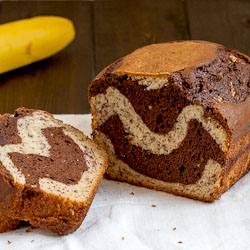 Twisty Chocolate Banana Bread