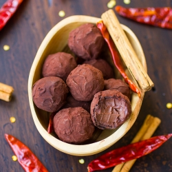 Vegan Chocolate Chile Truffles