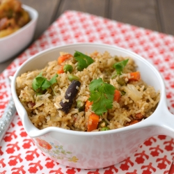 Vegetable Coconut Pilaf Recipe