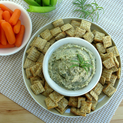 White Bean Dip with Rosemary Garlic