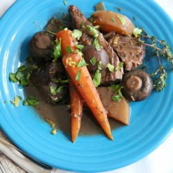 Wine-Braised Beef, Carrot