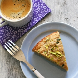 Zucchini Quinoa Breakfast Cake Recipe