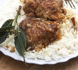 Adobo Chicken from the Philippines