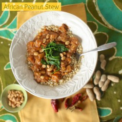 African Peanut Stew with Quinoa