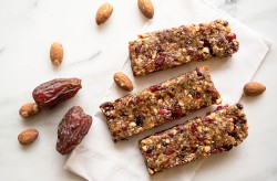 Almond Date and Hemp Energy Bars Recipe