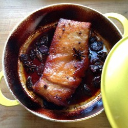 Asian Braised Pork Belly