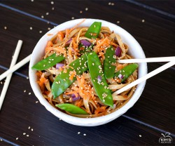 Asian Sesame Pasta Salad Recipe