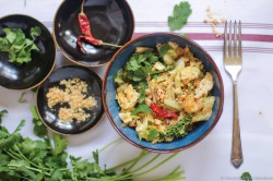 Asian-Inspired Cabbage Stir Fry
