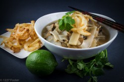 """Asian-style Chicken """"Layered"""" Soup"""