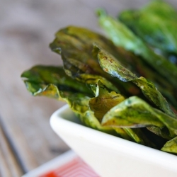 Baby Bok Choy Chips