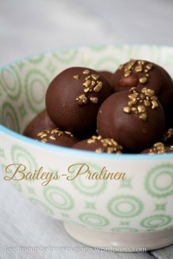 Baileys Irish Cream Praline Truffles Recipe