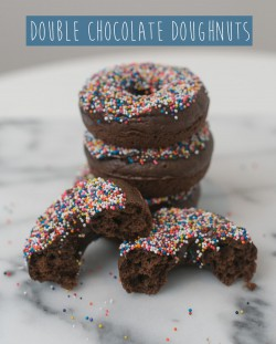 Baked Double Chocolate Doughnuts Recipe