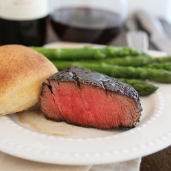 Balsamic Glazed Filet Mignon Recipe