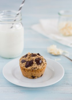 Banana Coconut Chocolate Chunk Muffins Recipe