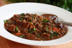 Beef and Barley Stew Recipe