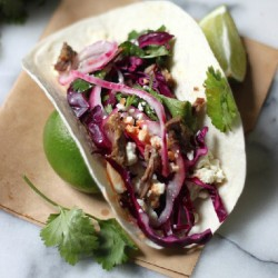 Beer Braised Short Rib Tacos