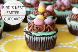 Birds Nest Easter Chocolate Cupcakes Recipe