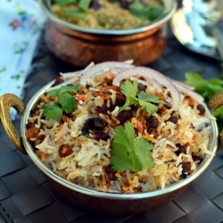 Biryani with Chickpeas Recipe
