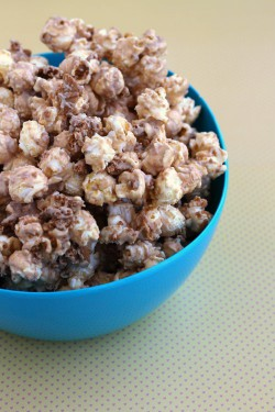 Biscoff Cookie Spread Popcorn Recipe