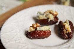 Blue Cheese and Walnut Stuffed Dates Recipe