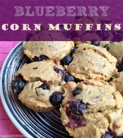 Blueberry Corn Muffins Recipe