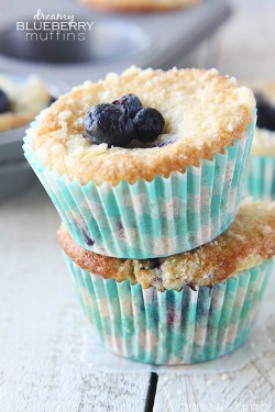 Blueberry Crumble Muffins Recipe