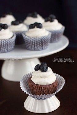 Blueberry Cupcakes Vegan Recipe