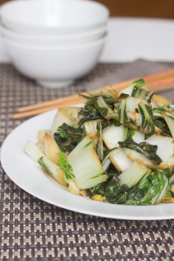 Bok Choy Ginger Garlic Stir Fry Recipe