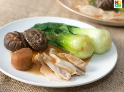Braised Mushrooms with Abalone
