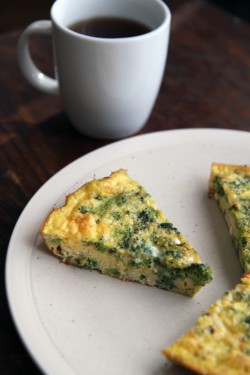 Broccoli and Feta Frittata Recipe