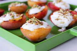 Broiled Peaches Recipe