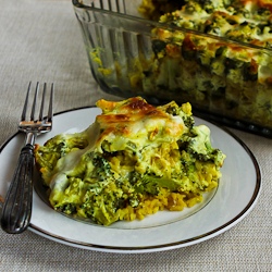Brown Rice and Broccoli Casserole