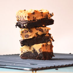 Brownie w/ Cookie Dough