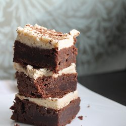 Brownies with Cookie Dough Frosting
