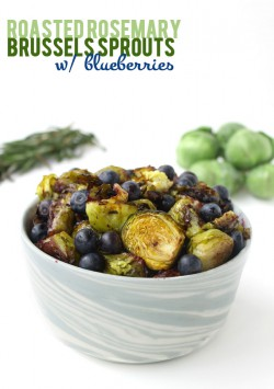 Brussels Sprouts w/ Blueberries