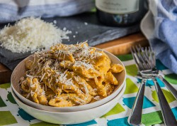 Butternut Penne Pasta with Parmesan