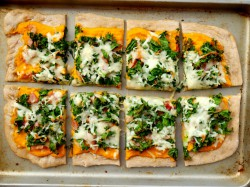 Butternut Squash Kale Bacon Pizza Recipe
