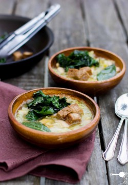 Cabbage and Kale Soup