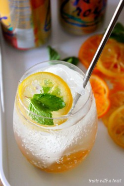 Candied Citrus Fizz Cocktail