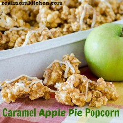 Caramel Apple Pie Popcorn