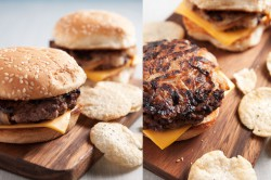 Caramelized Onion Cheeseburgers Recipe