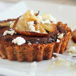 Caramelized Pears and Chocolate