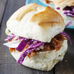 Carolina Pulled Pork Sliders Recipe