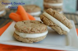 Carrot Cookie Oreo's