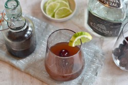 Cherry Tequila Sour Cocktail Recipe