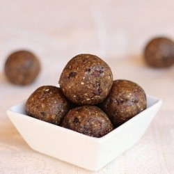 Chewy Chocolate Chip Truffles
