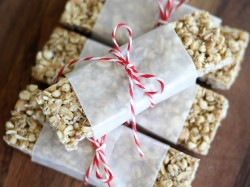 Chewy Peanut Butter Granola Bars GF