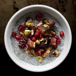 Chia Seed Pudding with Medjool Dates Recipe